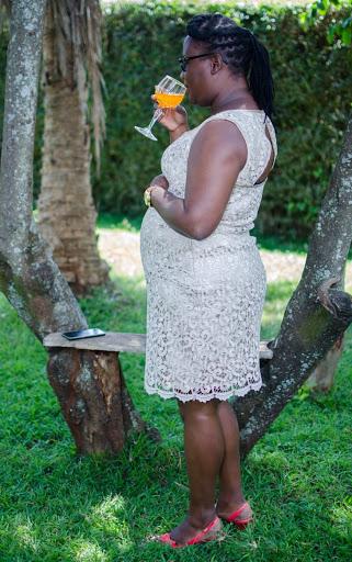 Lace Dress Knee Length