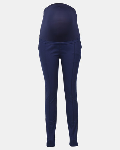 Blue official trouser
