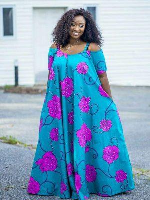 Maridadi maxi dress