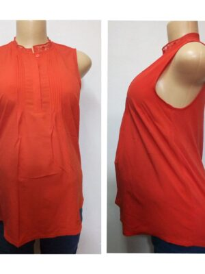 sleeveless maternity top size 12